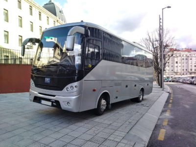 Alquilar minibuses en Bilbao