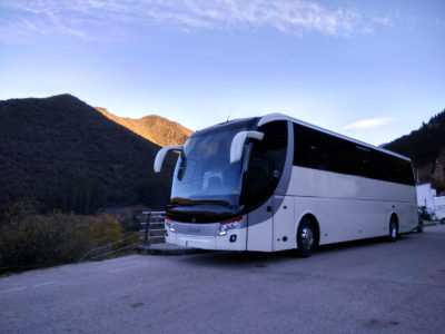 Alquilar autobuses en Bilbao