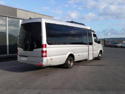 Microbuses en Bilbao
